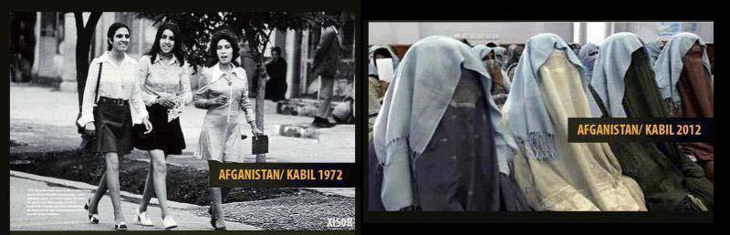 Afganistan 1972 ja 2012