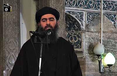 Kalifiksi julistautunut Abu Bakr al-Baghdadi muslimeille: Totelkaa minua
