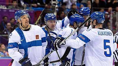 Suomi voittaa olympiakultaa 2014