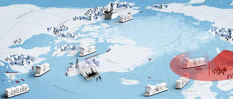 Arktisen alueen kilpavarustelu
